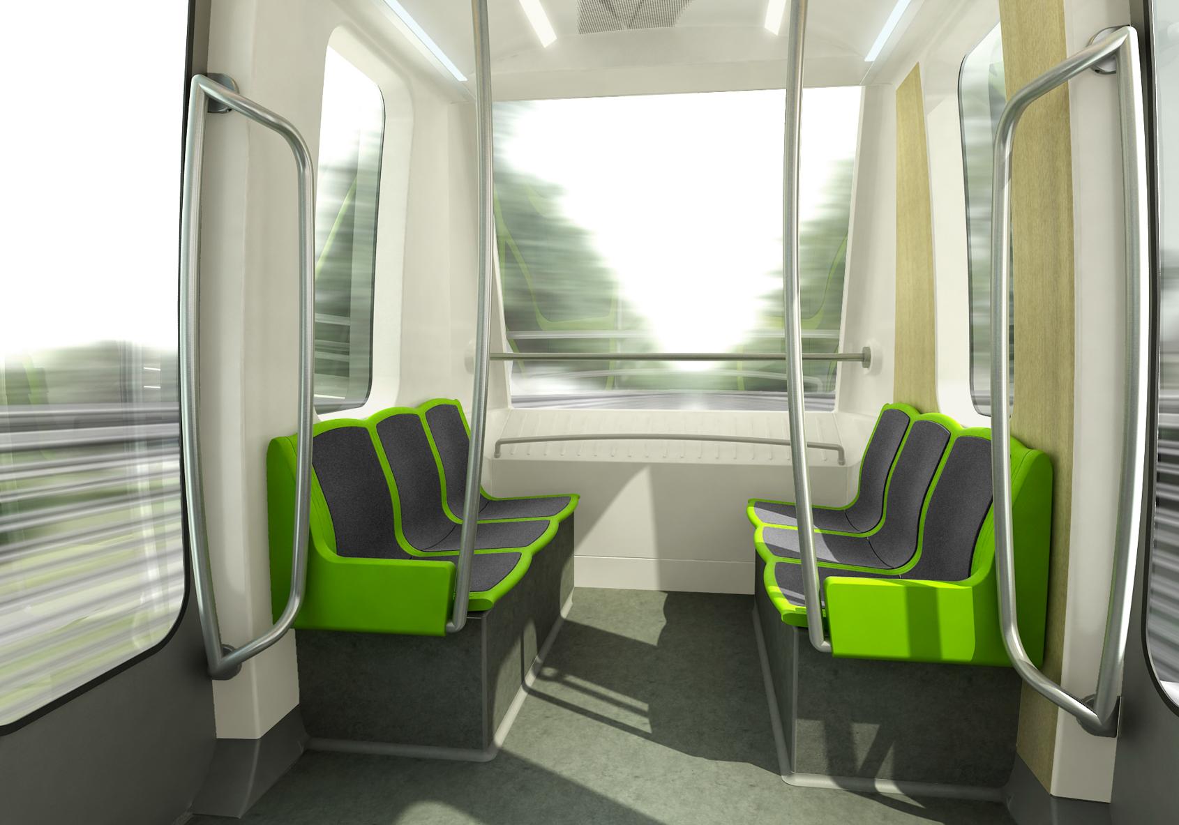 présentation du projet de design du métro de Rennes