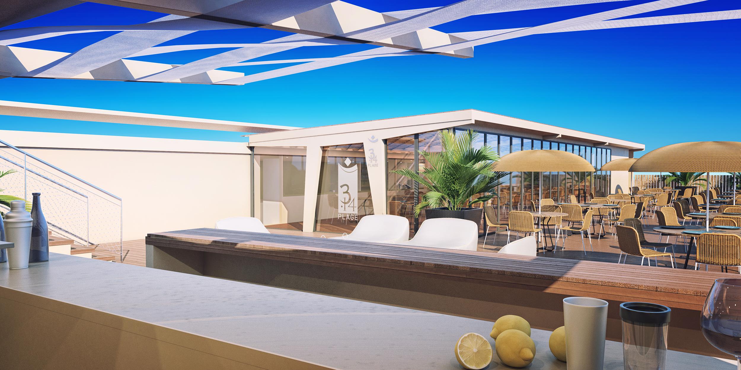 Illustrations 3d casino Cannes - Dripmoon