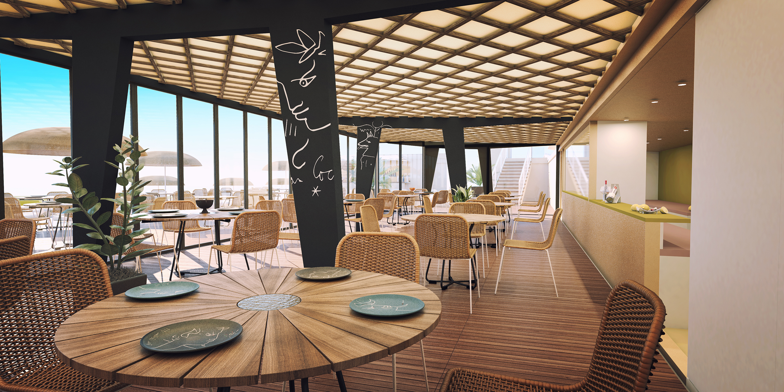 Images 3D par l'agence Dripmoon -Projet d'architecture d'un casino