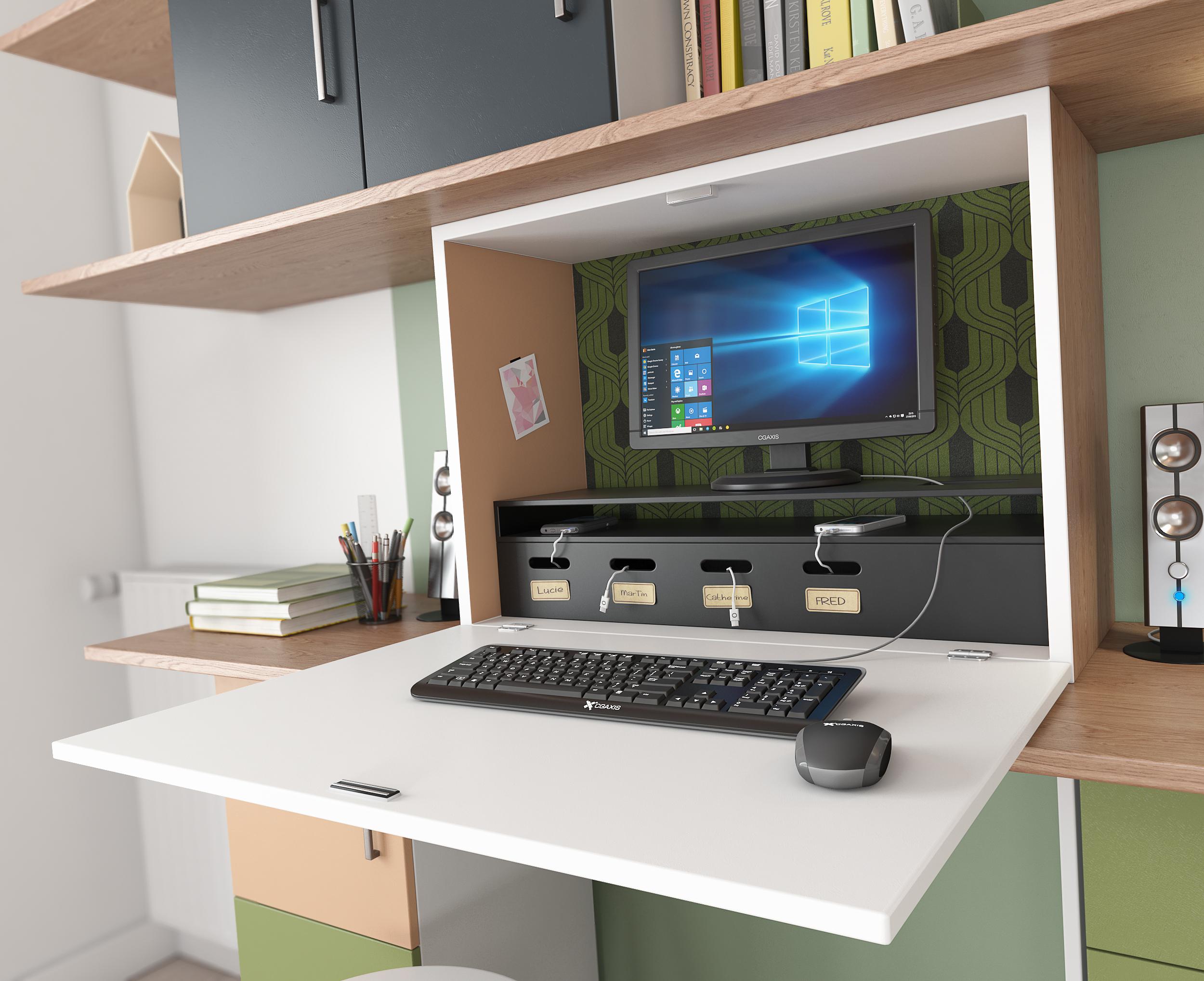 Images 3D Aménagement d'un salon - Agence Dripmoon à Tours