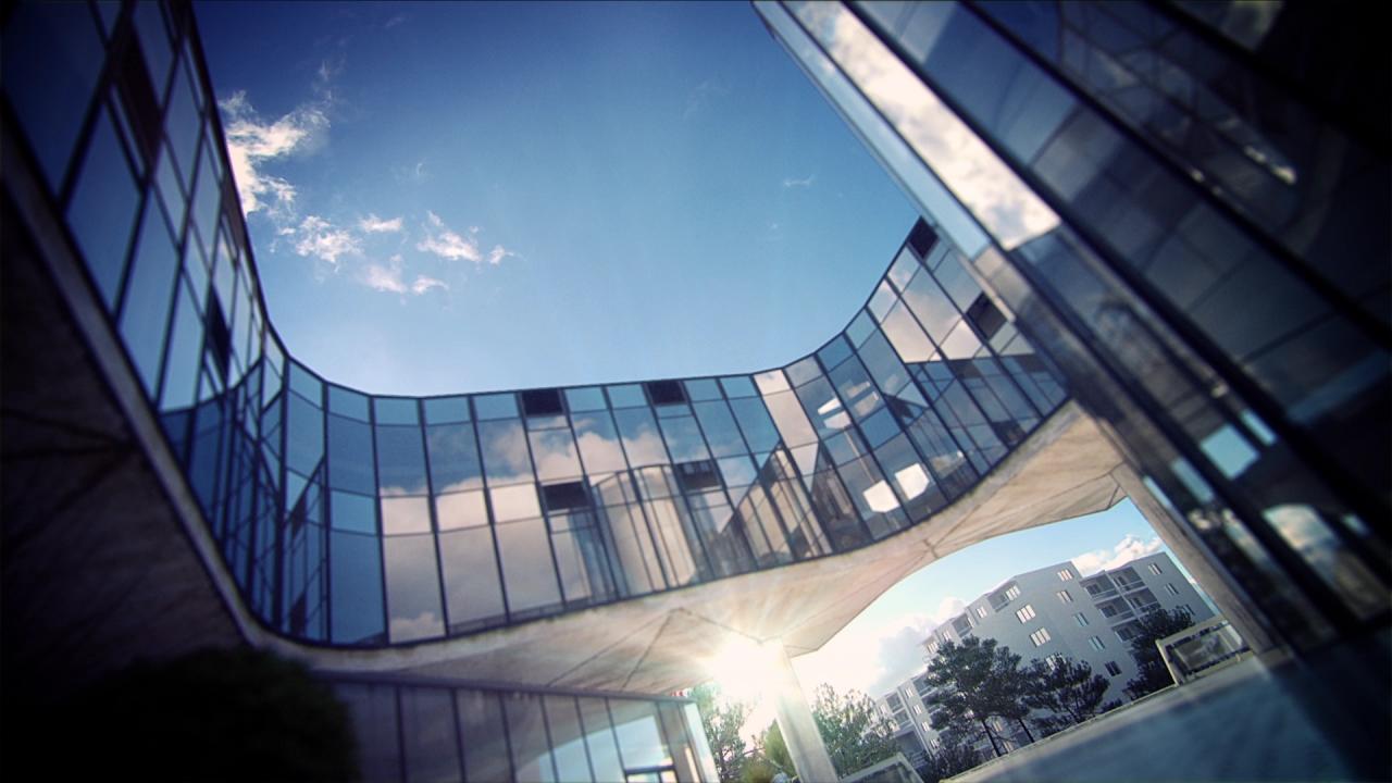 projet de mise en lumière de l'hôtel de ville de la Baule