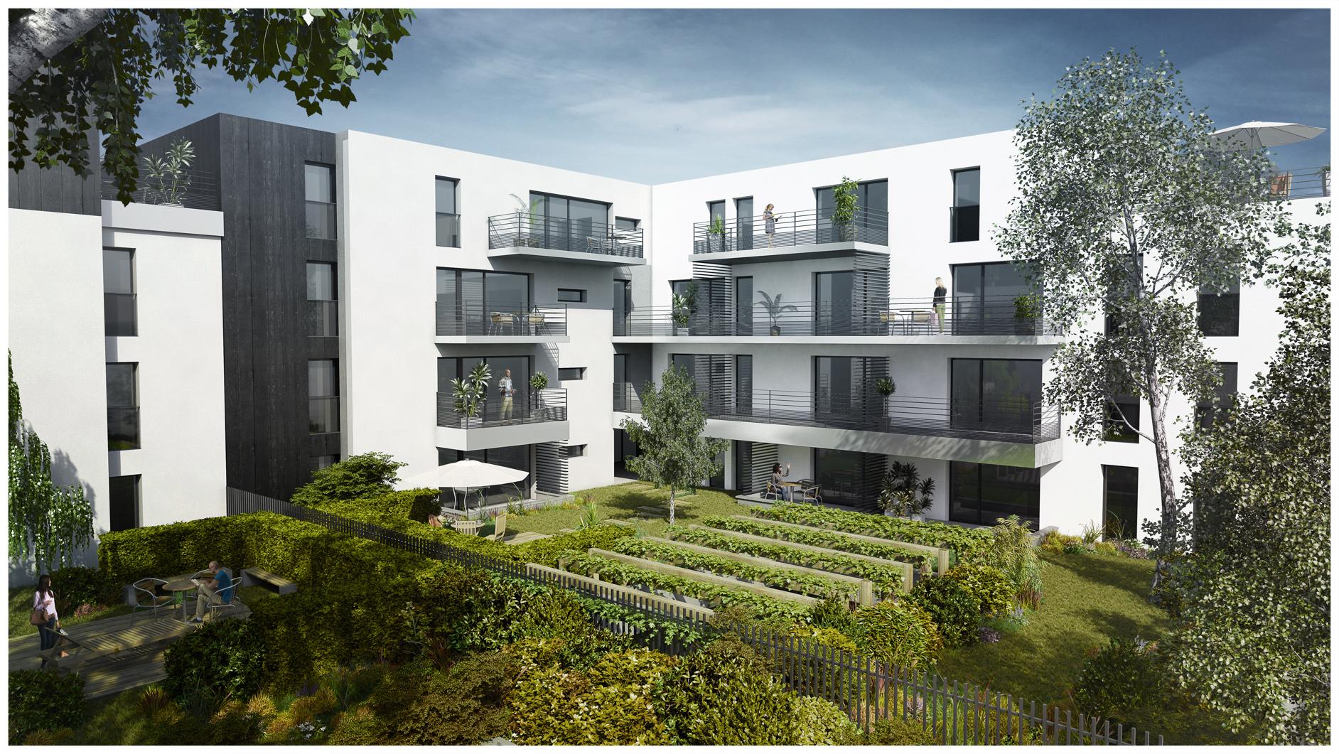 Promotteur Immobilier Groupe Gambetta - Images 3D Dripmoon