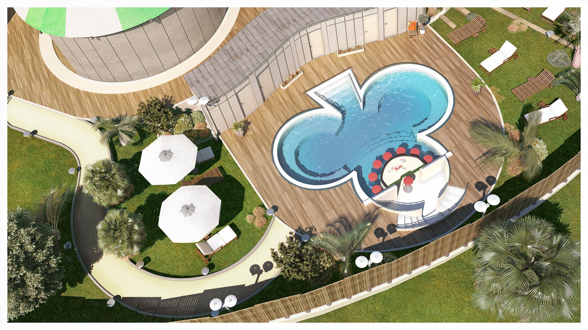 Images en 3D casino de la Ciotat