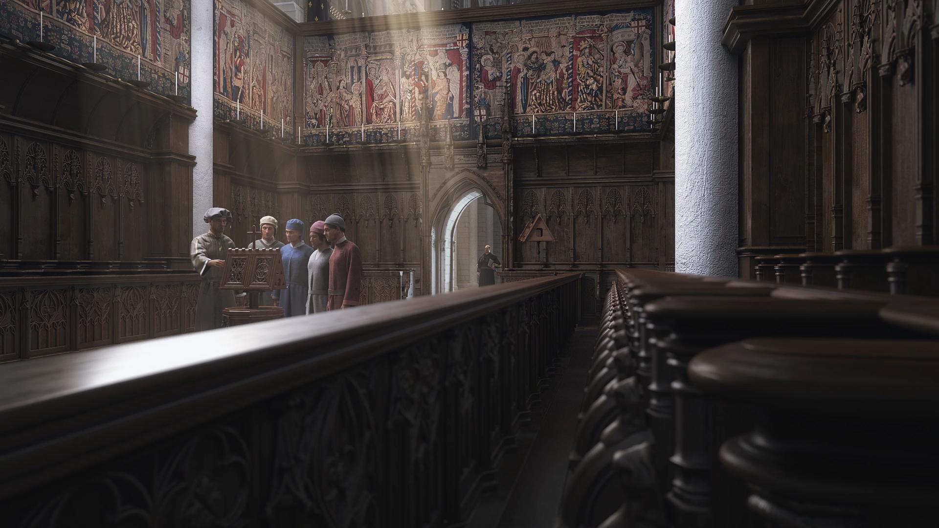 Production d'un film en image de Synthèse sur la renaissance - Studio Dripmoon à Tours
