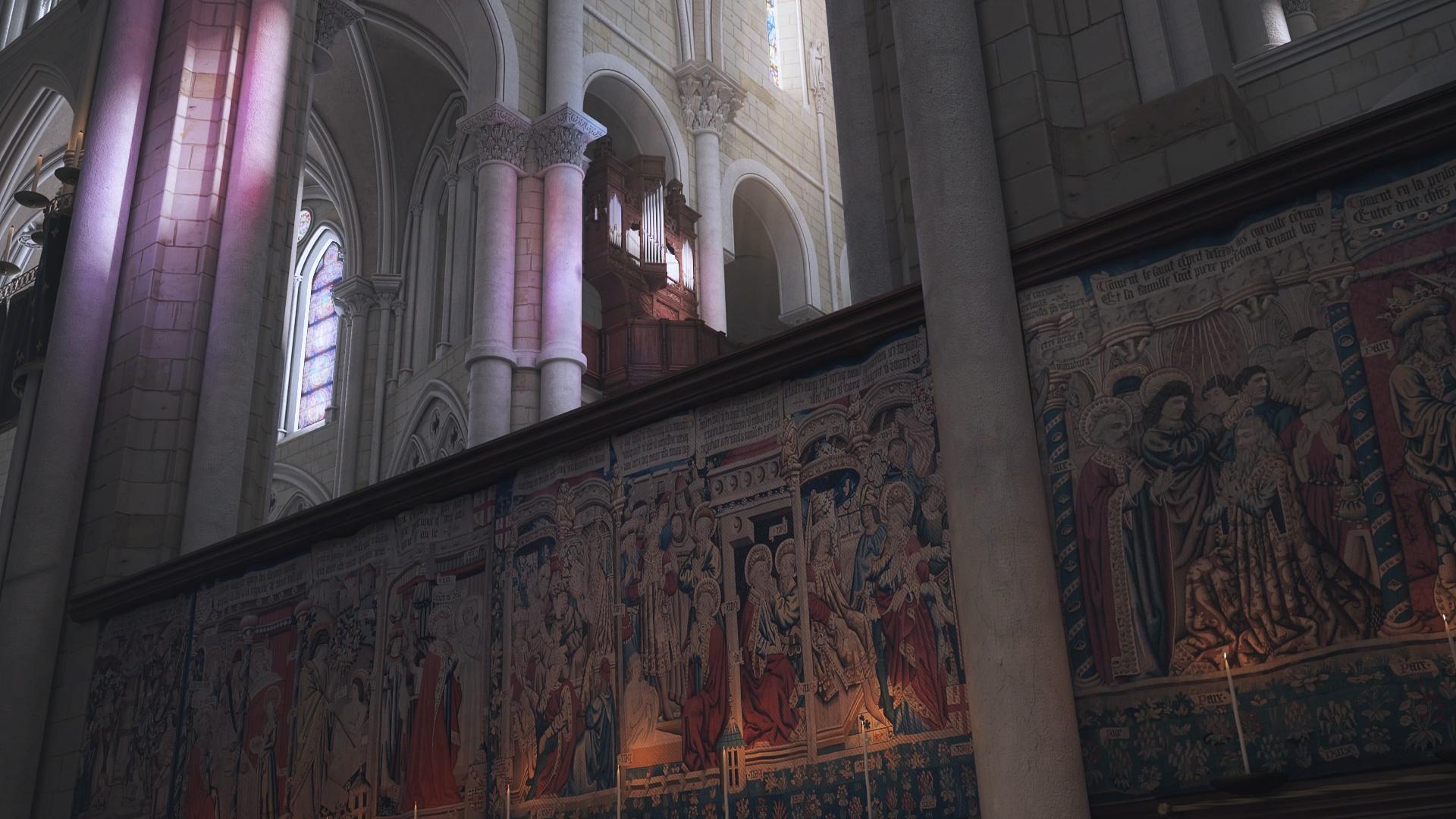 Animation 3D pour restitution Archéologique - Patrimoine Numérique à Tours
