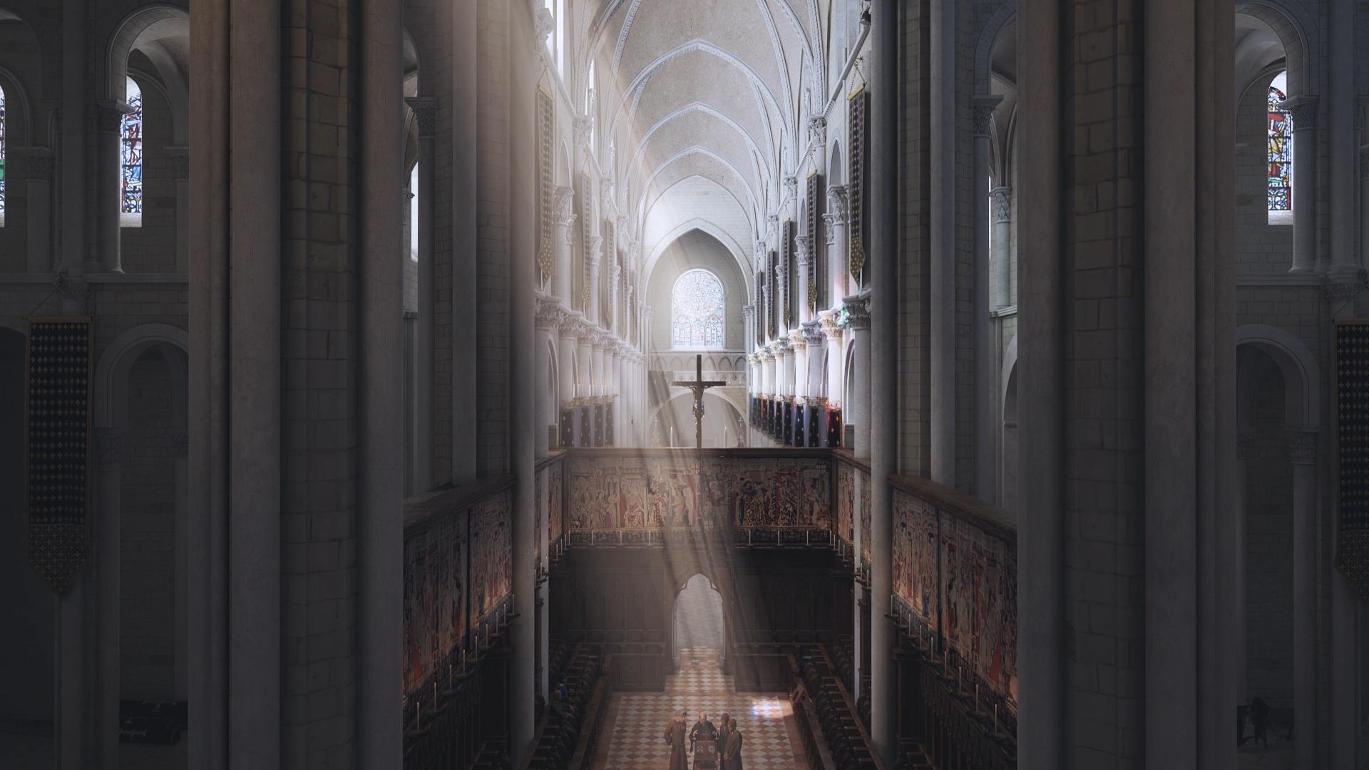 Film 3D Renaissance Tours - Projet de recherche en musicologie - Dripmoon