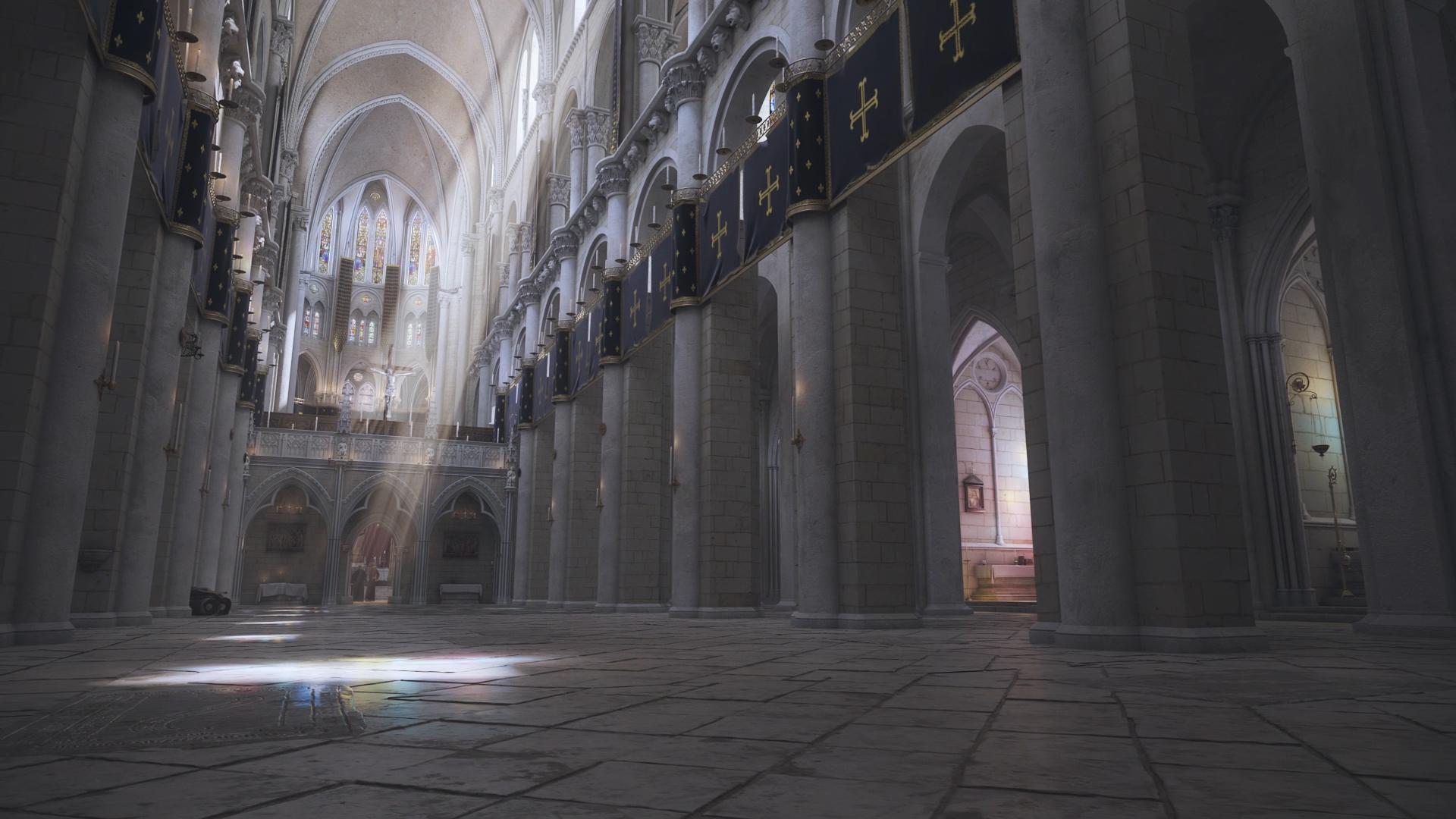 Projet RevisMartin - Modélisation et création d'un film en image de Synthèse par l'agence Dripmoon