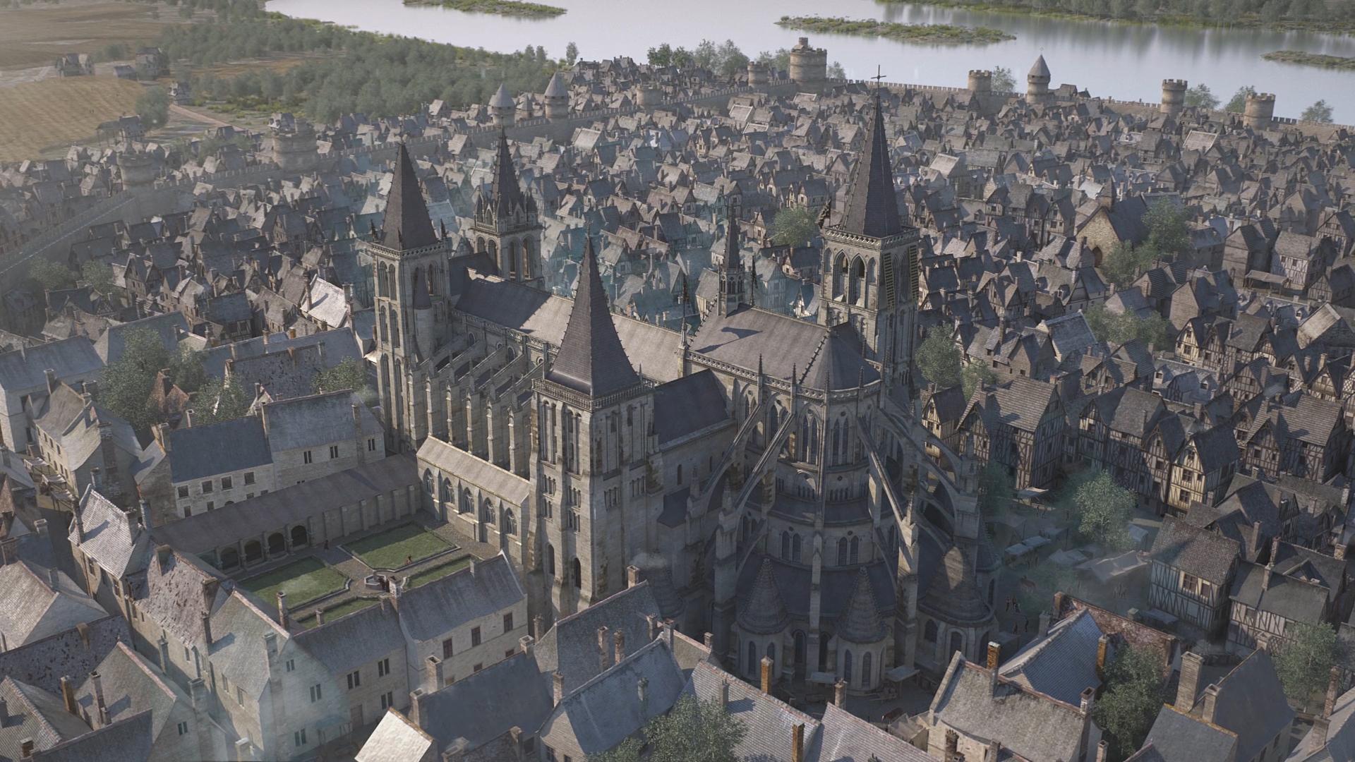 Film 3D Renaissance Tours par Dripmoon