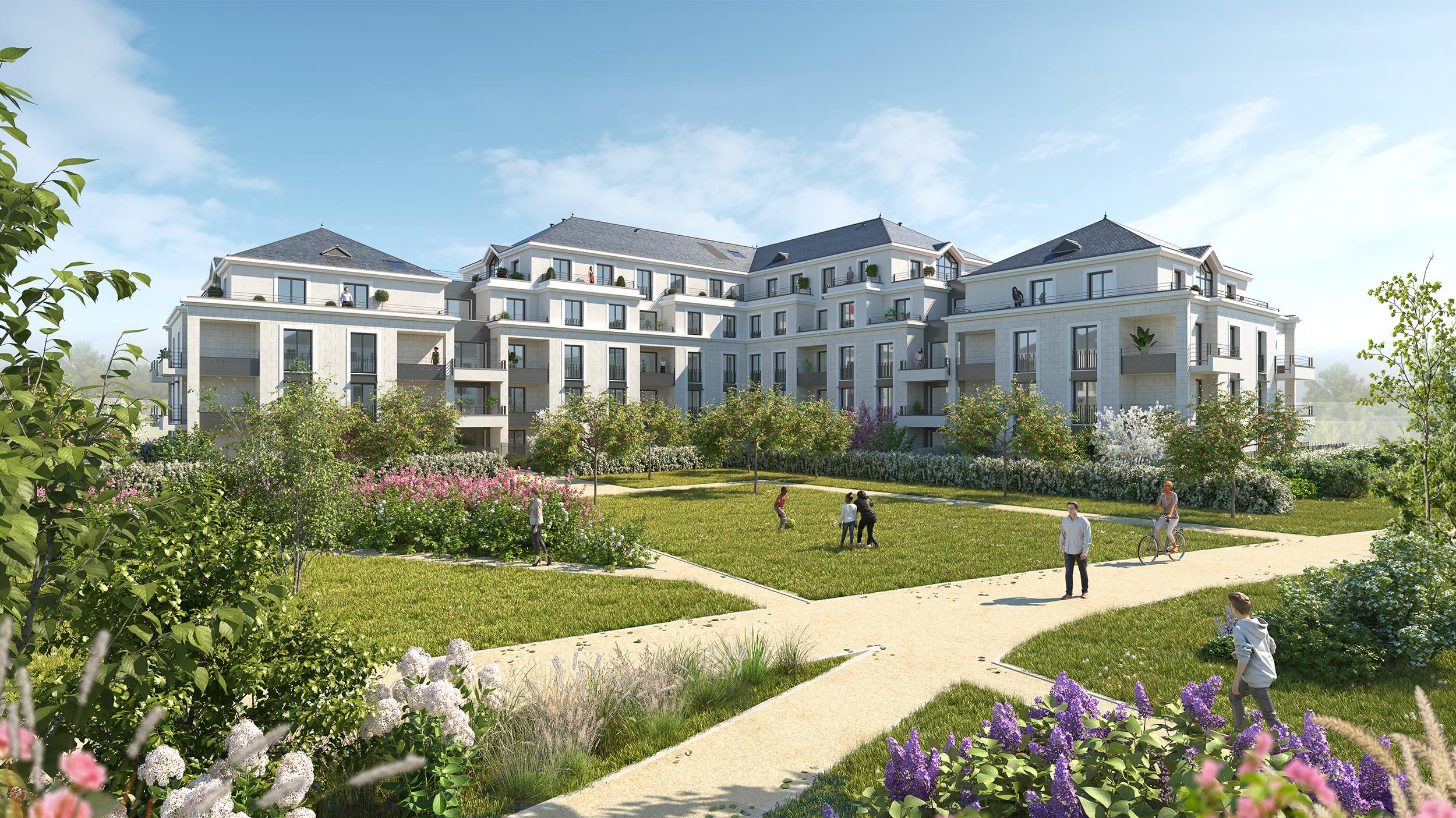 Projet architecture infographie 3D à Saint cyr sur Loire