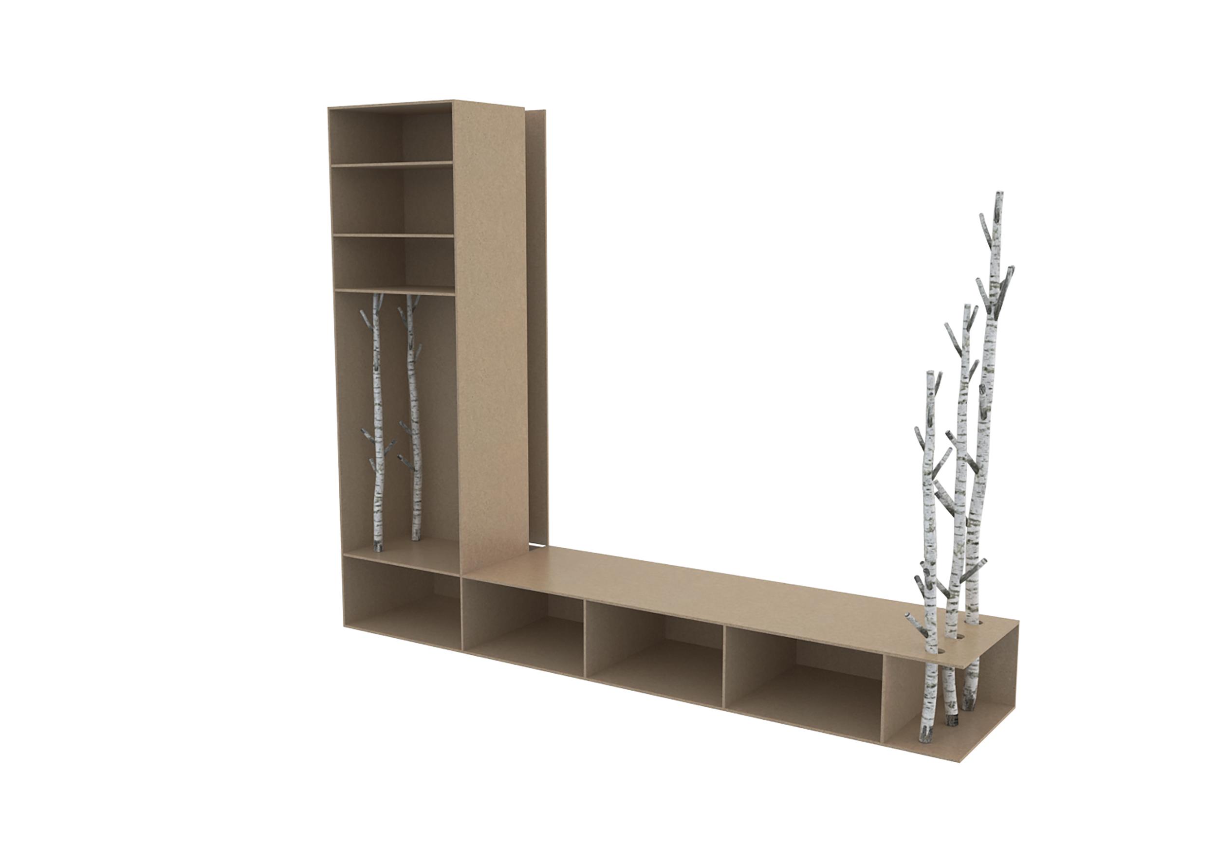Illustrations 3D schéma de montage du meuble Par Dripmoon