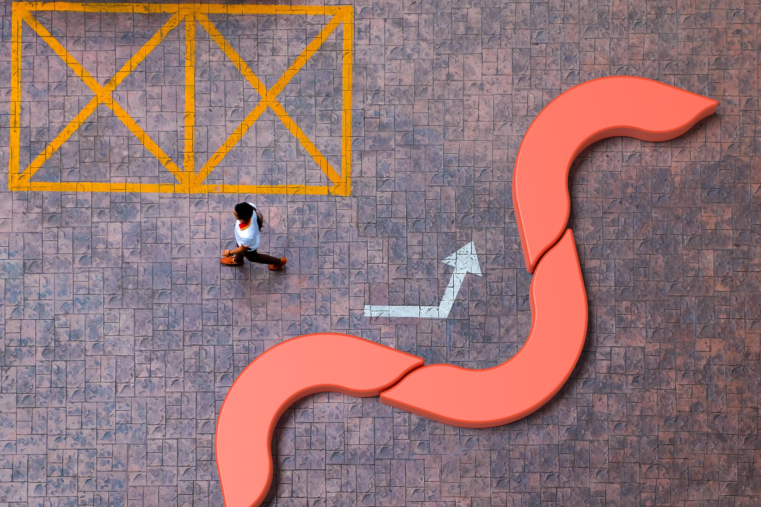 Montage photo pour présentation du design concept Urbain - Dripmoon