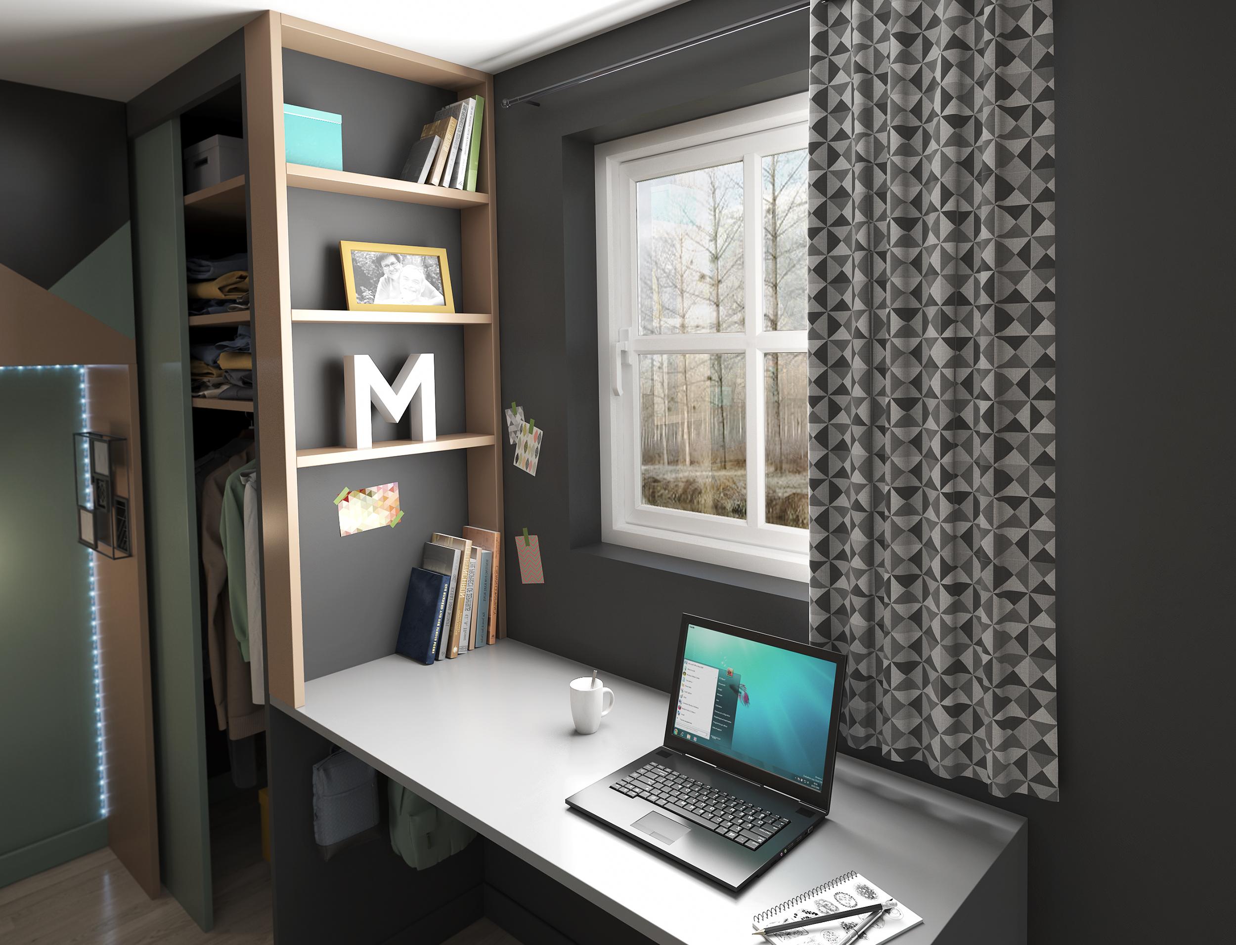 Images 3D - aménagement et la décoration d'une chambre par Dripmoon