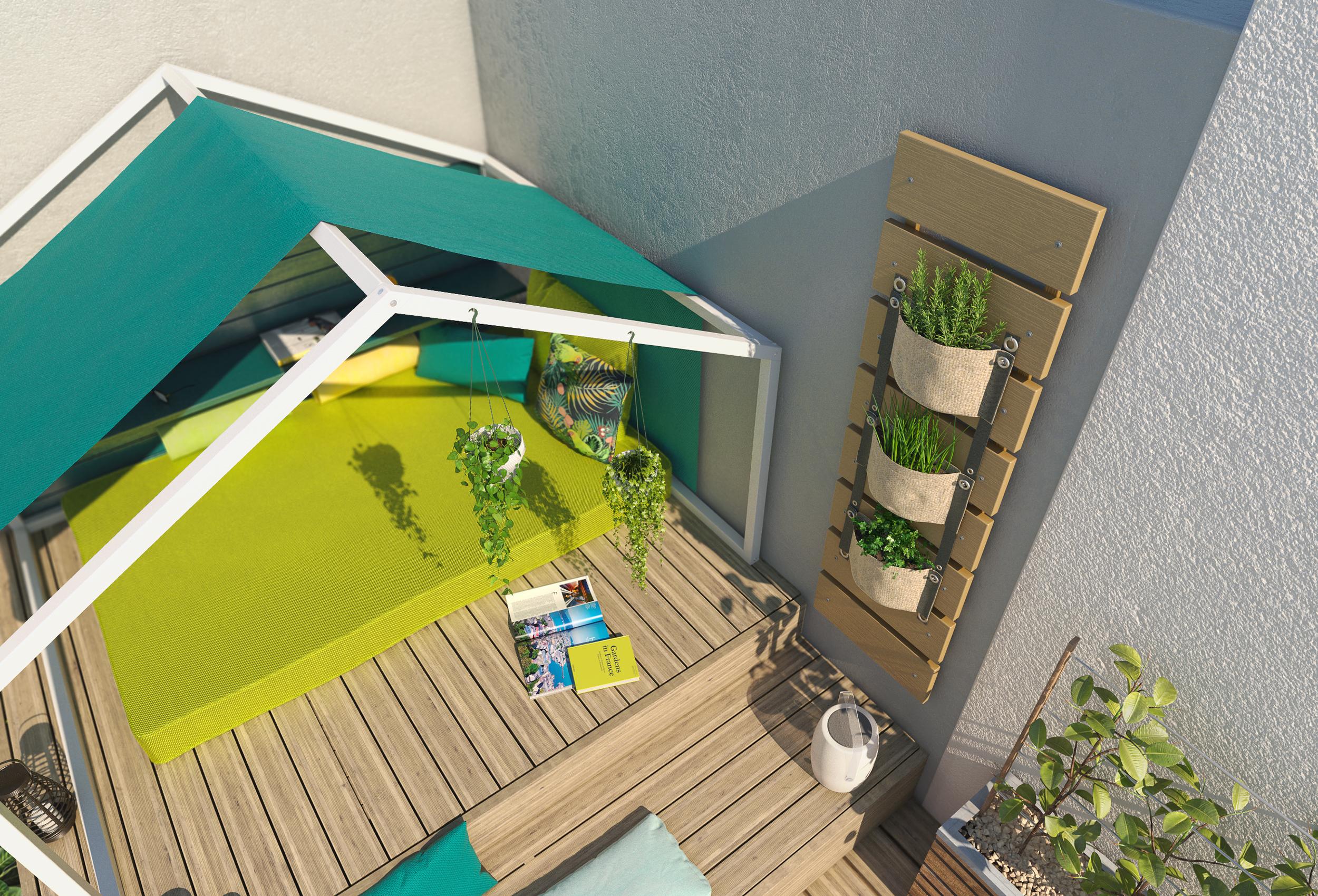 Images 3D Aménagement d'un Jardin - Agence Dripmoon à Tours