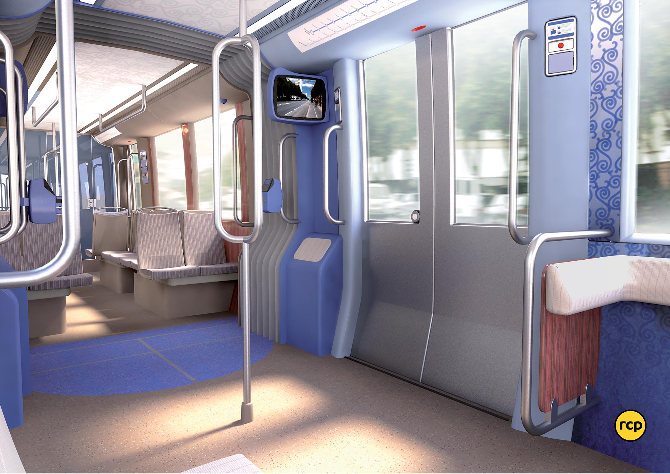 présentation du projet de design du métro de Rouen