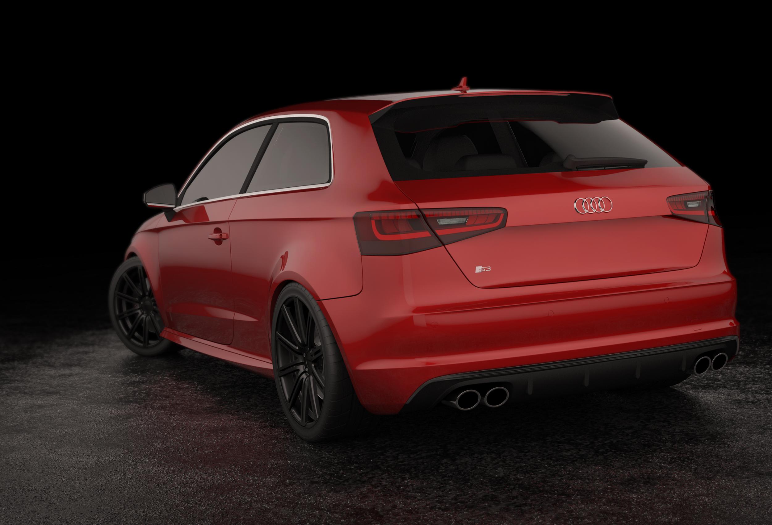 Modélisation Audi S3 Par Dripmoon